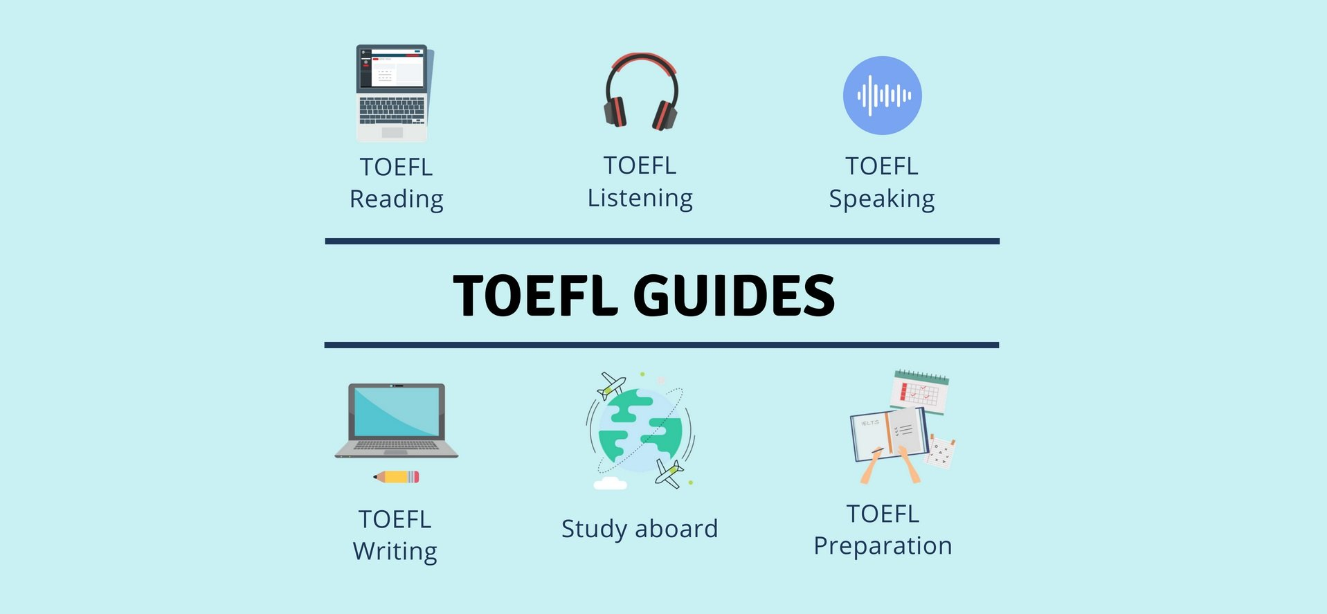 TOEFL Guides: Get Free TOEFL Tips, Lessons, Sample Questions from TOEFL  Experts. If you ...
