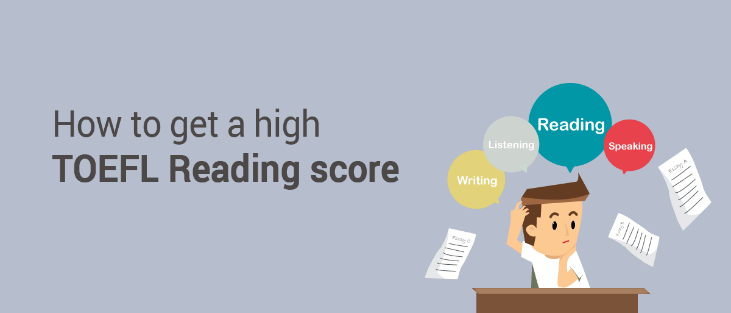 How to get a high TOEFL reading score