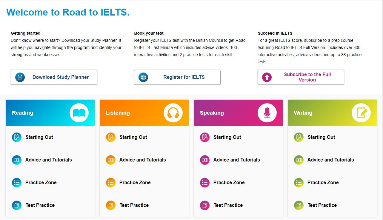 Online Test For Ielts